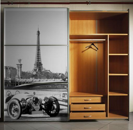 Fototapeta stare zdjęcie Paryża - w efekcie Czarno-Białe
