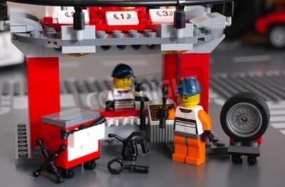 Fototapeta Mechanicy Lego z narzędziami