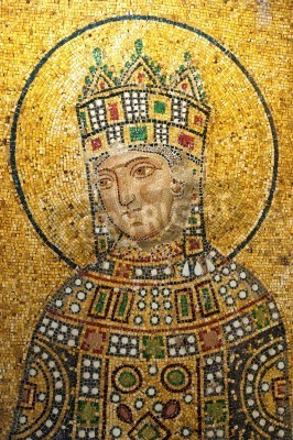 Fototapeta Mozaika z muzeum Hagia Sophia