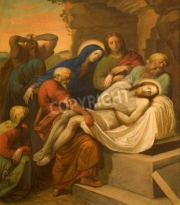 Obraz na płótnie Pogrzeb Jezusa Chrystusa