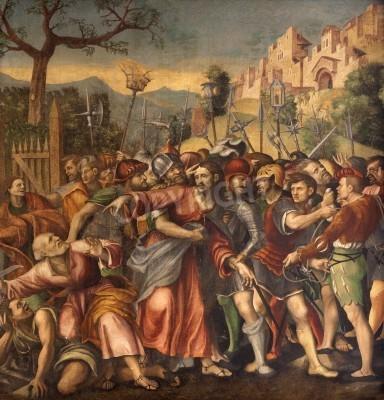 Obraz na płótnie Niewola Chrystusa - Kaplica San Bernandino