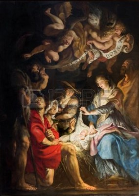 Fototapeta Szopka Petera Paul Rubensa - Kościół St. Paula