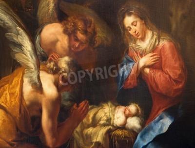 Fototapeta Narodziny Chrystusa - obraz Kaspera van Opstal