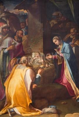 Obraz na płótnie Hołd trzech króli - kościół Santa Maria w Vallicella