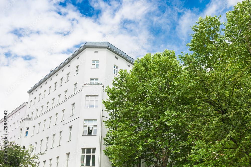Mehrfamilienhaus in berlin altbau fototapety for Mehrfamilienhaus berlin