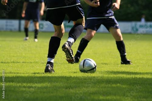 Plakat Sport Piłka Nożna Bramkarz Pole