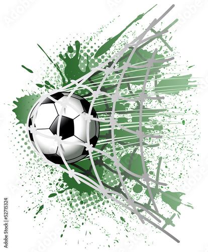 Plakat Sport Piłka Nożna Piłka Net