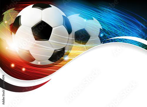 Plakat Sport Ruch Piłka Nożna