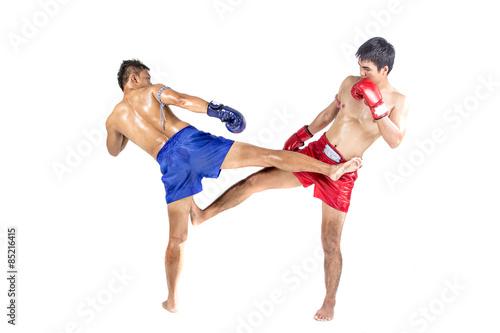 Plakat Kick Boxing Boks Bokser Sztuki Walki